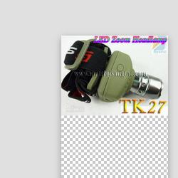 Đèn pin đeo trán siêu sáng TK27