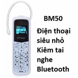 Điện thoại BM50 kiêm tai nghe bluetooth siêu nhỏ