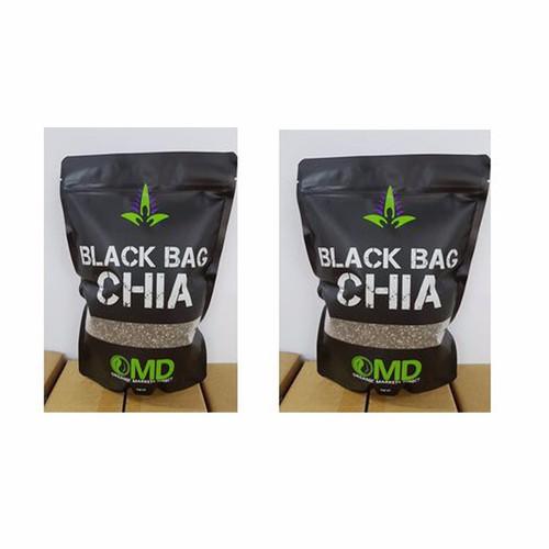 Combo 2 hạt chia cao cấp black bag chia omd gói 1kg cùa úc