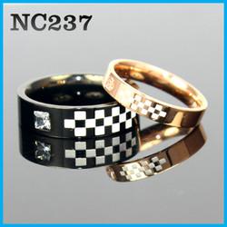 Nhẫn đôi cao cấp NC237 - BH vĩnh viễn ko đen