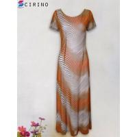 Đầm voan dài sang trọng CIRINO - Cam