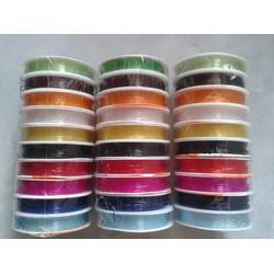5 cuộn dây cước thun co giãn nhiều màu