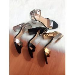 giày cao got vuông cao cấp -pl316