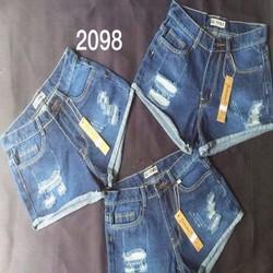 Quần Jean short nữ rách