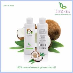DẦU DỪA ÉP LẠNH - ExTra Virgin Coconut Oil - 200ml