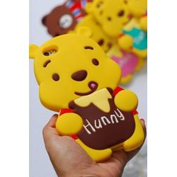 Ốp lưng dẻo thú nổi gấu Hunny - Giá Cực Sốc