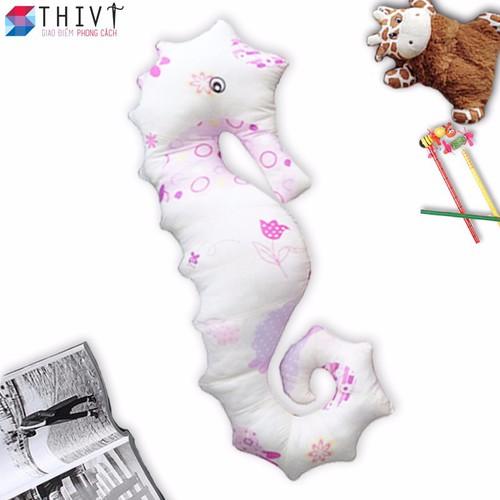 Gối ôm cá ngựa cho bé 10 - Cotton Hàn Quốc, Gòn Bi 3D - THIVI - 4040733 , 3769919 , 15_3769919 , 185000 , Goi-om-ca-ngua-cho-be-10-Cotton-Han-Quoc-Gon-Bi-3D-THIVI-15_3769919 , sendo.vn , Gối ôm cá ngựa cho bé 10 - Cotton Hàn Quốc, Gòn Bi 3D - THIVI