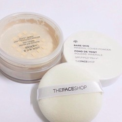 Phấn bột Mineral Cover Powder The Face Shop # 203
