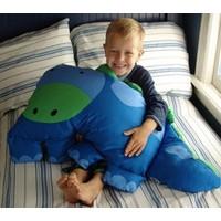 Nệm  Gối DooMagic cho bé hình khủng long THIVI
