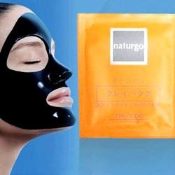 Mặt nạ lột mụn bùn non Shiseido Naturgo - hộp 10 gói