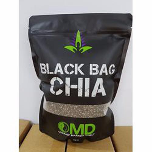 Hạt chia đen cao cấp black bag chia omd túi 1000gr của úc
