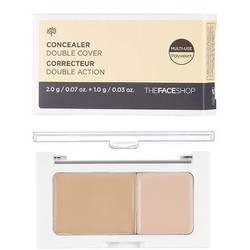 Che khuyết điểm 2 ô Concealer Double Cover.