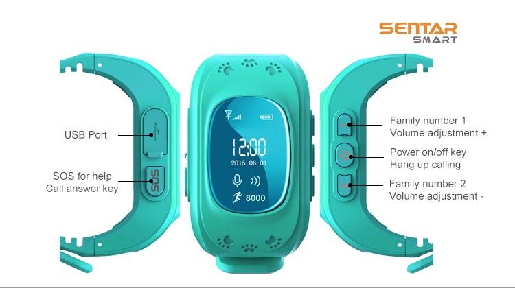 Đồng hồ cho bé Q50 8