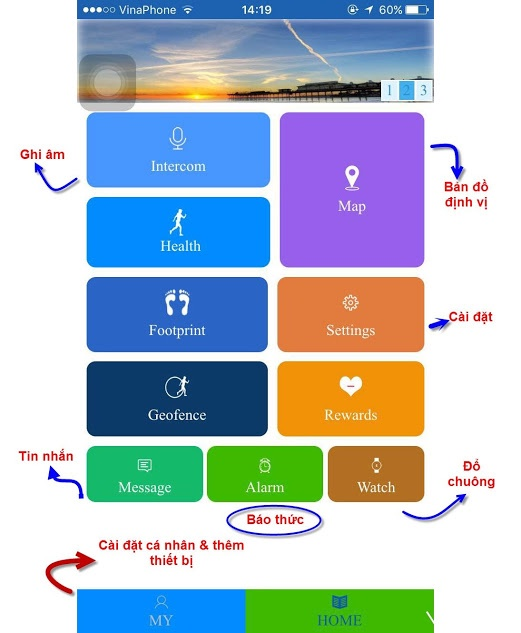 Đồng Hồ Định Vị Kids T08B 5