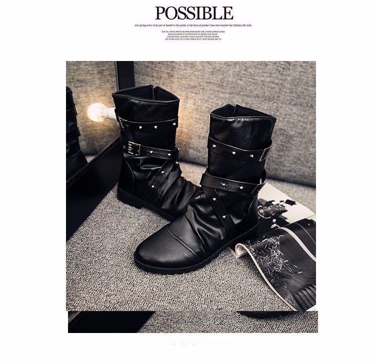 giày bốt nam phong cách cao cấp C54 2
