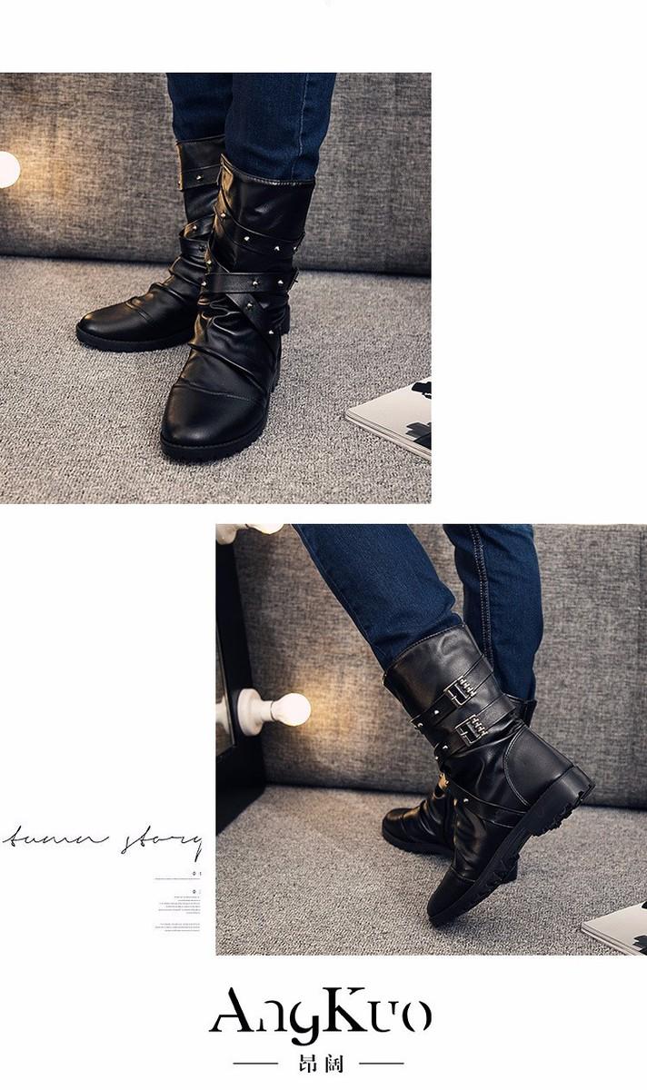 giày bốt nam phong cách cao cấp C54 4