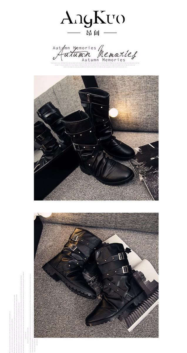 giày bốt nam phong cách cao cấp C54 5