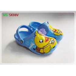 giầy dép nhựa thái lan cho bé