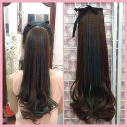 tóc cột line