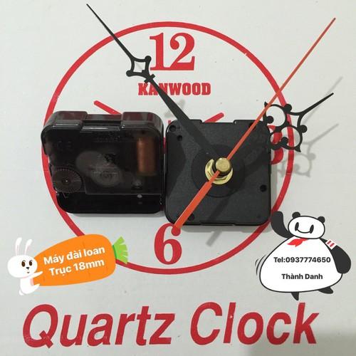 Bộ 2 máy Đài Loan quartz 12888 trục 18mm 190000