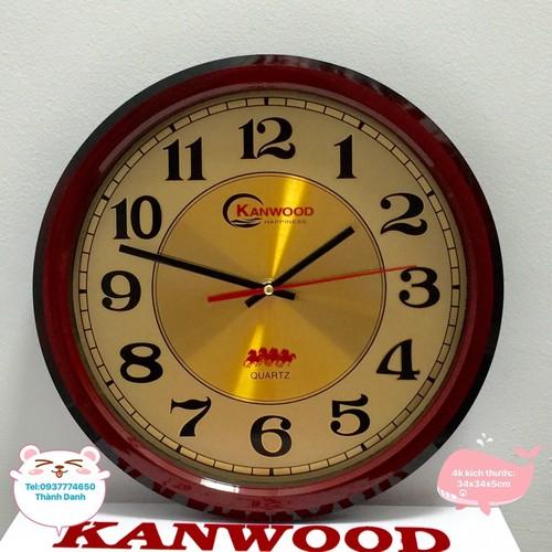đồng hồ treo tường 4k hoc tro