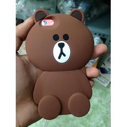 Ốp Lưng iPhone Gấu Nâu Cho Iphone - Giá Cực Sốc