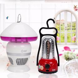 Bộ 2 sản phẩm: Đèn diệt muỗi đa năng COMET CM038 + Đèn sạc LED CM8517