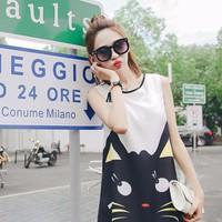 Đầm Suông Black Cat