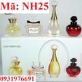 Nước hoa Nữ set 5 chai DIOR - NH25