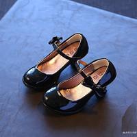 Giày cao gót nơ cho bé GBG32