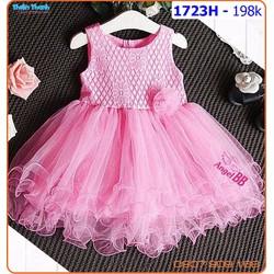 Đầm công chúa ren xinh lung linh cho bé