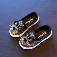 Giày búp bê mèo kim tuyến cho bé gái GBG15