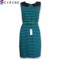 Đầm Suông sát cánh cổ lá sen CIRINO