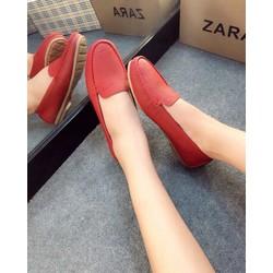 Giày mọi chất da mềm.