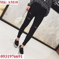 Quần Skinny rách cá tính - AM10