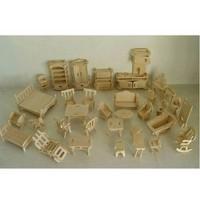 Bộ đồ chơi gỗ ép cao cấp 184 chi tiết