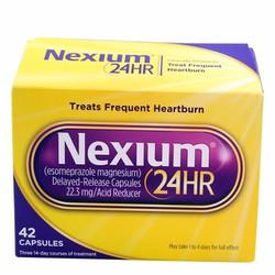 Viên uống hỗ trợ điều trị viêm loét dạ dày Nexium 24hr 42 viên của Mỹ