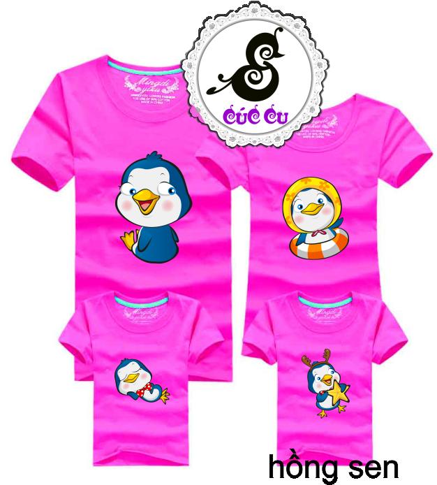Áo gia đình chim cánh cụt 7