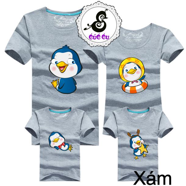 Áo gia đình chim cánh cụt 4