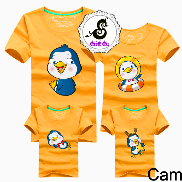 Áo gia đình chim cánh cụt 2