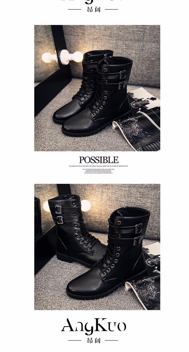 Giày boot nam phong cách hàn quốc  - GN107 3