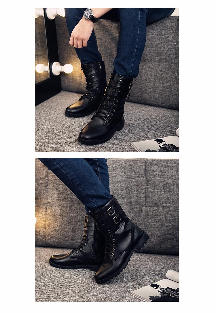 Giày boot nam phong cách hàn quốc  - GN107 2