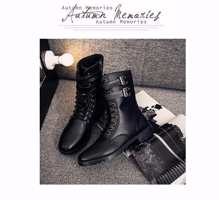 Giày boot nam phong cách hàn quốc  - GN107 5