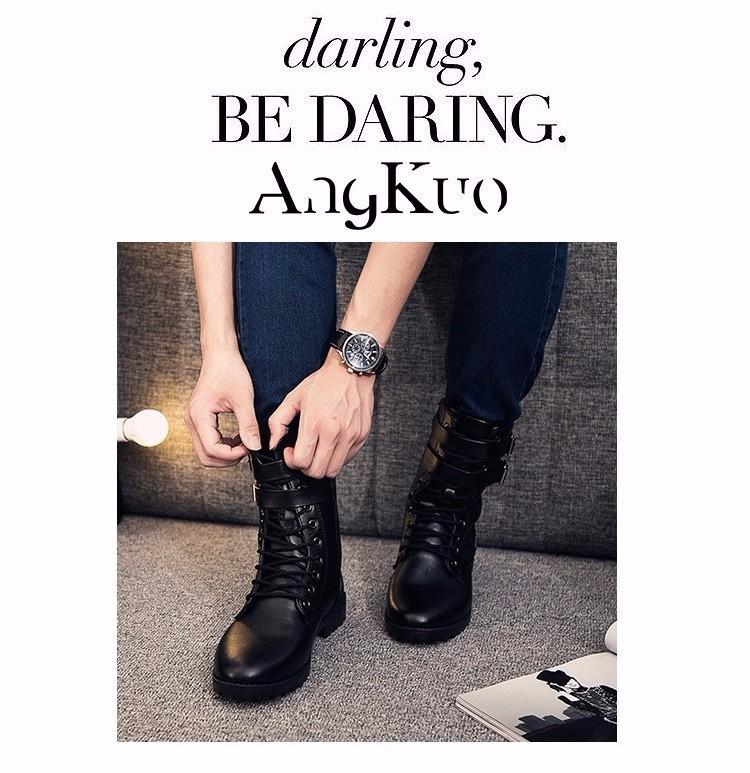 Giày boot nam phong cách hàn quốc  - GN107 4