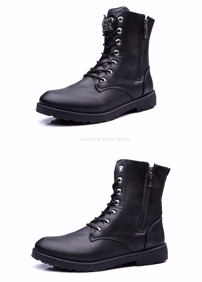 Giày Bốt Nam cao cấp Hàn Quốc - GN100 2