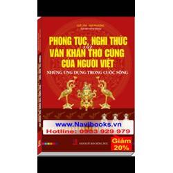 Sách: Phong tục, nghi thức văn khấn thờ cúng của người Việt