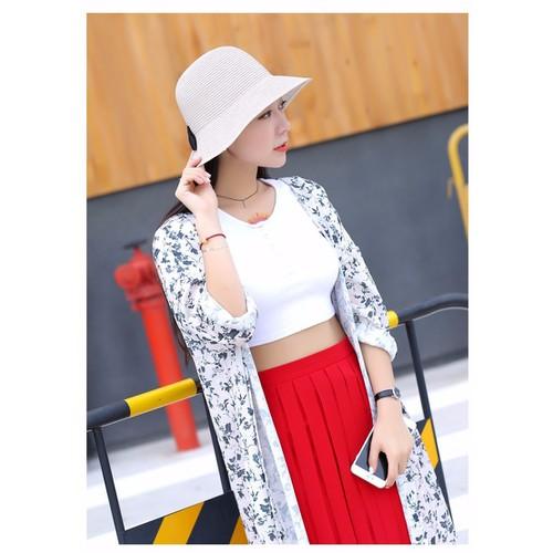 Nón mũ nữ rộng vành thời trang cao cấp chống tia UV
