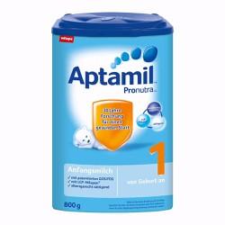 Sữa Aptamil số 1 hộp 800g xách tay Đức từ 2 tuổi