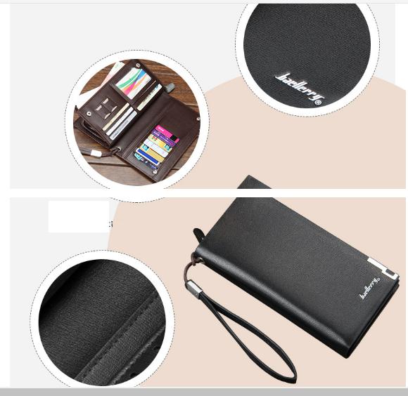 ví bóp cầm tay BAELLERRY cao cấp thiết kế mới sang trọng và hiện đại 5