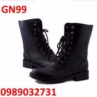 Giày Bốt Nữ cao cấp Hàn Quốc - GN99